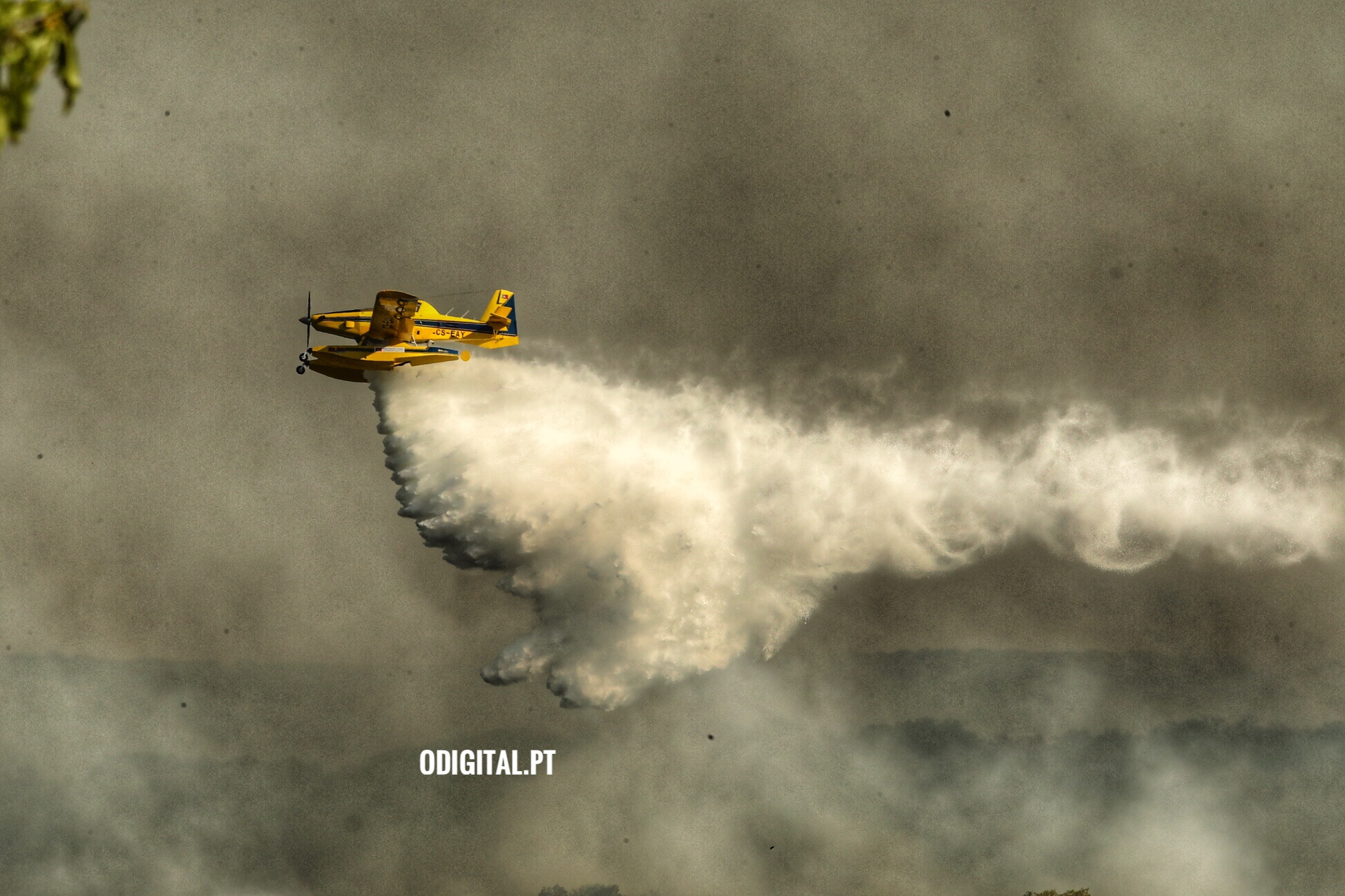 Incêndio com meios aéreos