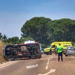 Nos últimos cinco dias, a GNR registou mais de meia centena de acidentes nos 3 distritos do Alentejo