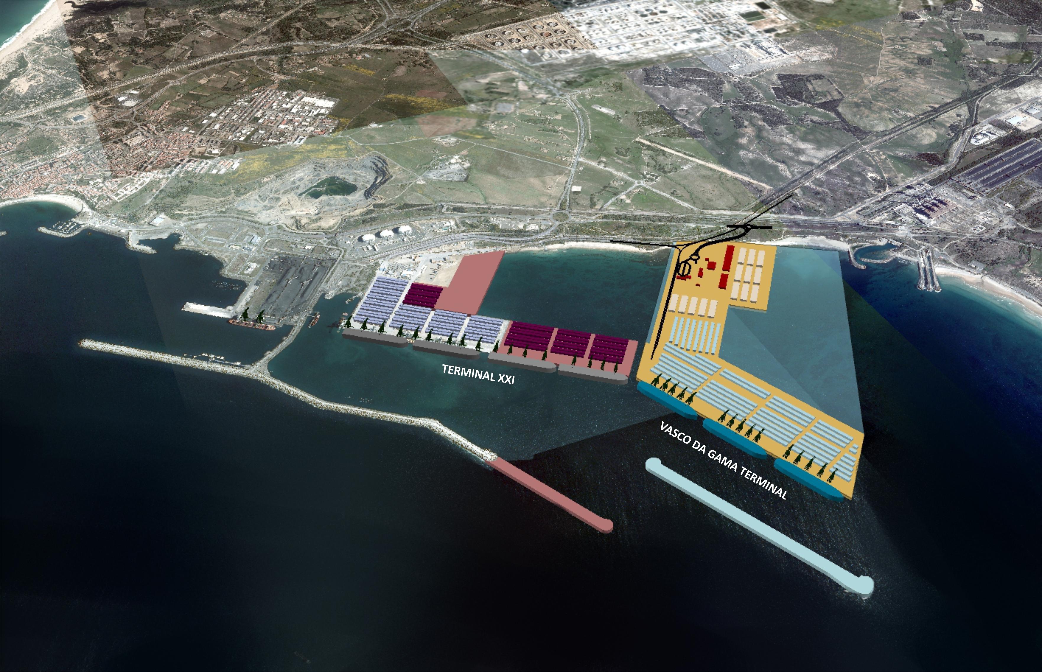 Novo terminal do Porto de Sines