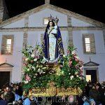 Vila Viçosa: Dezenas de fiéis na procissão de velas em Honra de Nossa Senhora da Conceição (c/fotos)