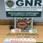 GNR fiscaliza bares em Sines e apreende droga e termina com jogo ilegal