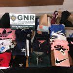 GNR apreendeu, em Ponte de Sor, 500 euros em artigos contrafeitos