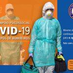 Covid-19: Protecção Civil criou linha de apoio psicossocial para os Bombeiros