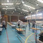 Covid-19: Em Portalegre estão concluídos dois centros de acolhimento, com cerca de 150 camas