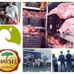 Pasto Alentejano e o Matadouro Regional do Alto Alentejo doaram 1 tonelada de carne de borrego a instituição de Évora