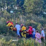 Jovem fica ferido ao cair em ravina, no concelho de Borba