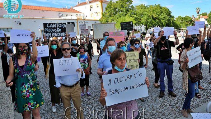 Protesto sector da cultura