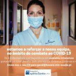 Covid-19: Hospital de Évora está a contratar enfermeiros para os cuidados intensivos