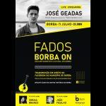 """Ciclo cultural """"Borba On"""" prossegue este sábado. José Geadas será o artista em palco"""