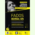 """Borba ON – Desconfinamento Cultural"" prossegue, no próximo sábado, com a fadista Soraia Branco"