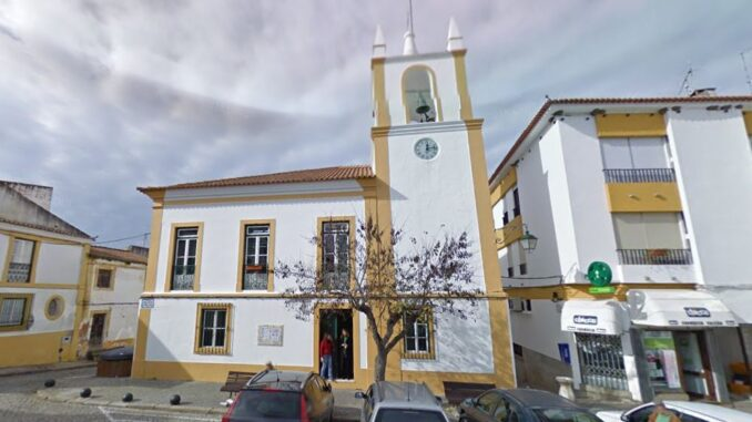 Torre do relógio em Mora