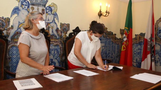 Assinatura de protocolo sobre itinerários arqueológicos