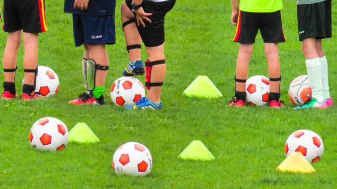 Atividade desportivas de formação