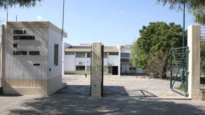 Concurso público para obras na Escola Secundária de Castro Verde