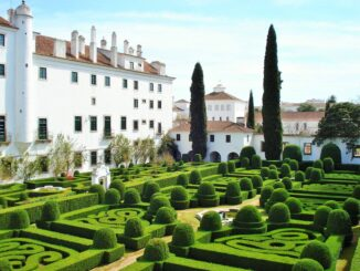 Jardins do Paço Ducal de Vila Viçosa