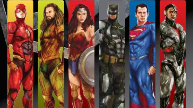 CTT lança selos sobre a Liga da Justiça