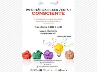 Uma palestra sobre consciência em Borba