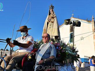 Nossa senhora de Charrete pelas ruas de Sousel