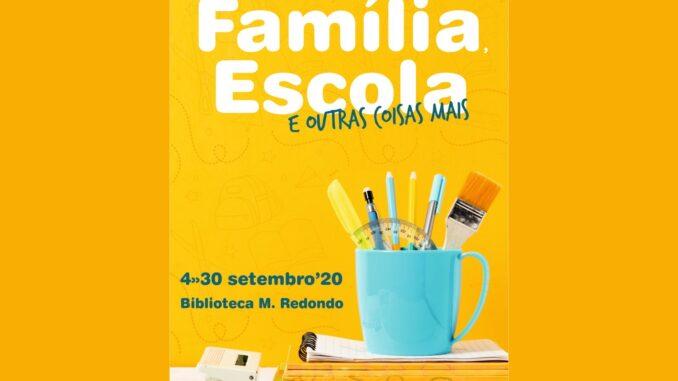 Exposição na Biblioteca Municipal de Redondo