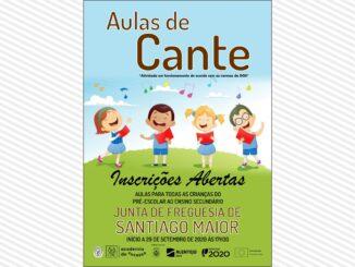Aulas de cante em Santiago Maior