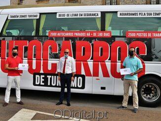 SOS autocarros passou por Estremoz