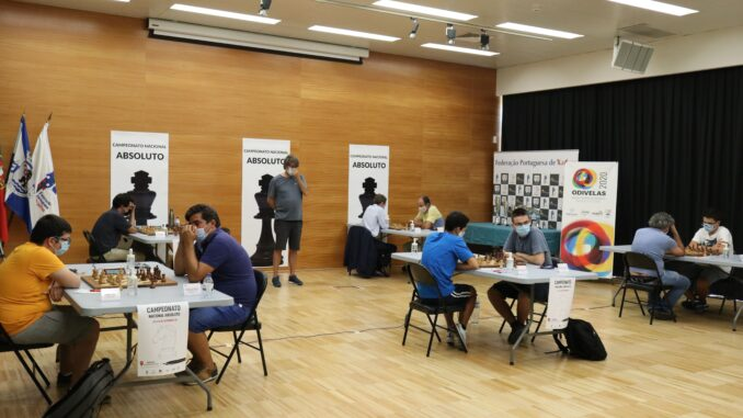fase final do Campeonato Nacional Absoluto de Xadrez