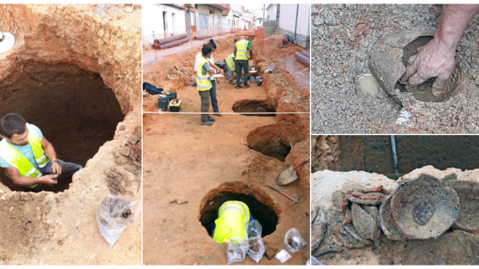 Achados arqueológicos em Alvalade do Sado