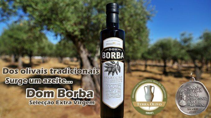 Azeite Dom Borba premiado