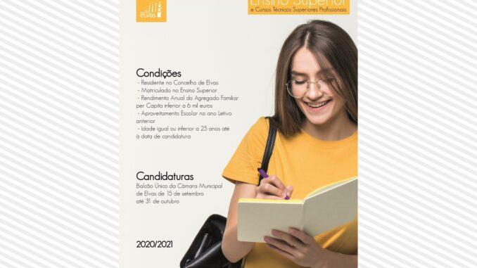 Bolsas de Estudo em Elvas