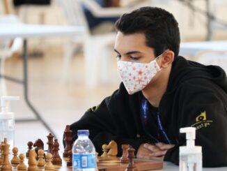 Bruno Martins lidera Absoluto e já é Mestre FIDE