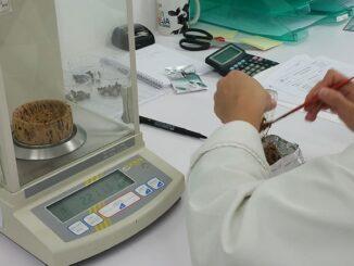 Laboratório Associação de Agricultores do Sul com tecnologia de ponta para analisar azeitona e de azeite