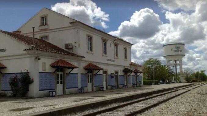 alteração do layout da Estação de Torre das Vargens