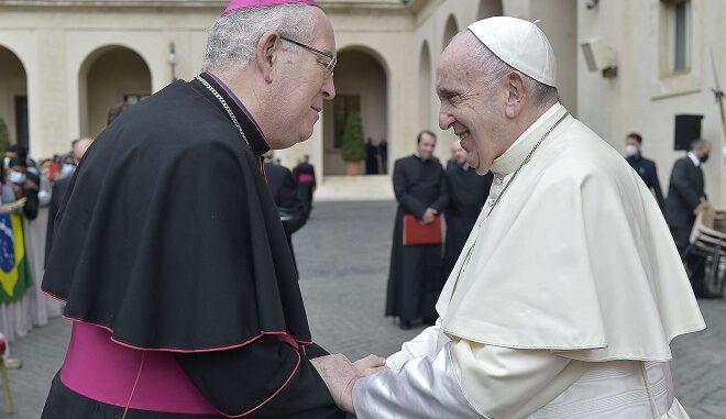 Arcebispo de Évora encontrou-se com o papa