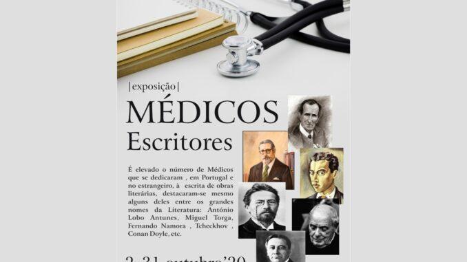 """""""Médicos Escritores"""" é o tema da exposição a visitar, até 31 de outubro, na vila de redondo"""