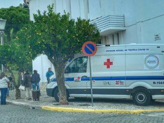 Testagem em Vila Viçosa