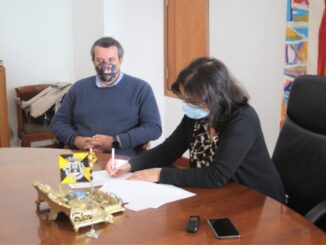 Assinatura do Auto de Consignação