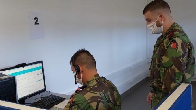 Forças Armadas apoioam no combate à pandemia