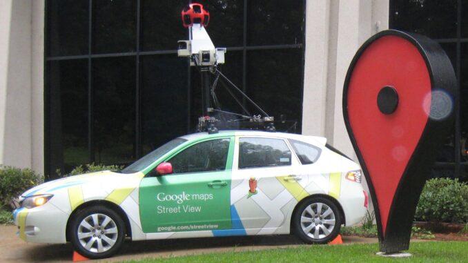 carros do Street View
