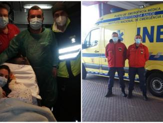 Bebe nasce em ambulância