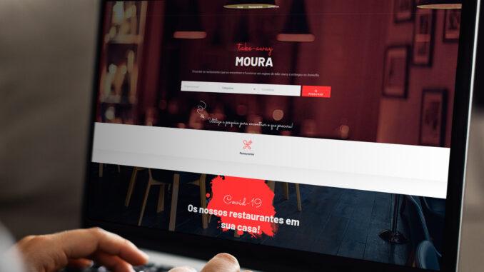 Portal em Moura