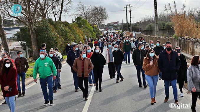 Manifestação em Bencatel