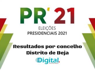 Presidenciais no distrito de Beja