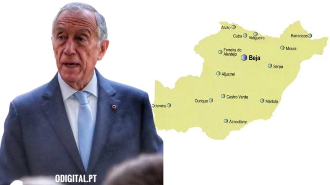 Marcelo vence no distrito de Beja