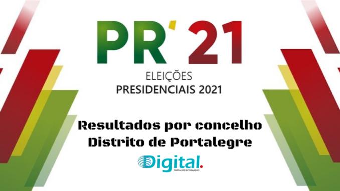 Presidenciais no distrito de Portalegre