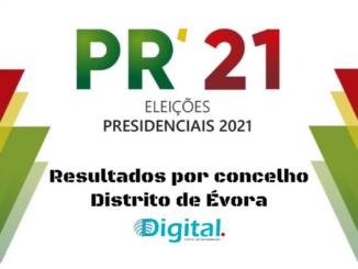 Presidenciais no distrito de Évora