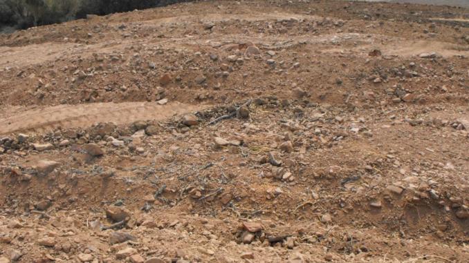 Siteio Arqueológico destruido