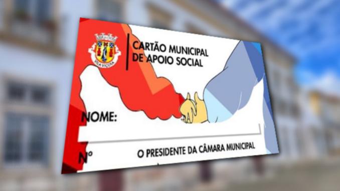 Cartão de apoio de Vila Viçosa