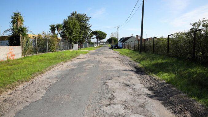 Estrada municipal em grândola
