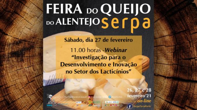 Webinar sobre queijo