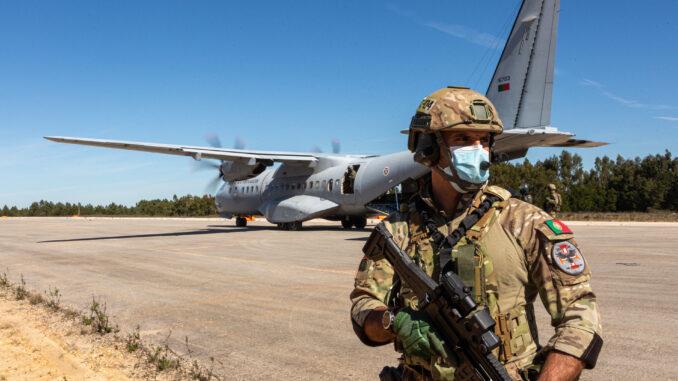 Exercício da Força Aérea em Beja